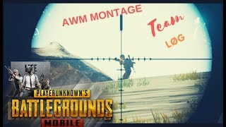 PUBG MOBILE AWM MONTAGE   BACK TO BACK ENTERTAINMENT   EMULATOR GamePlay :)