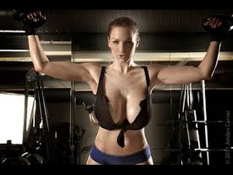 Amazing female workout maintains physical fitness and overall ...