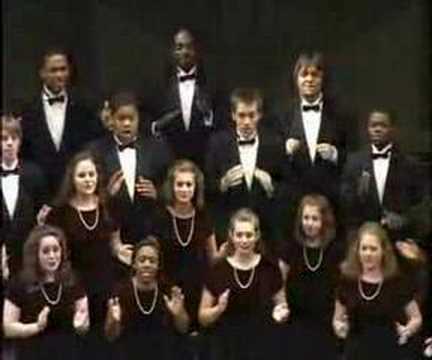 An incredible piece for Gospel choir: