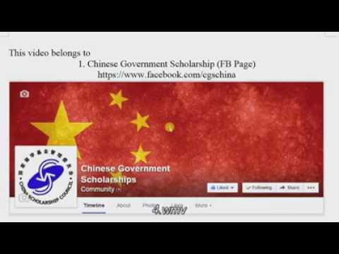 "How To Apply for Scholarship in china ""CSC Online Application Procedure1"""
