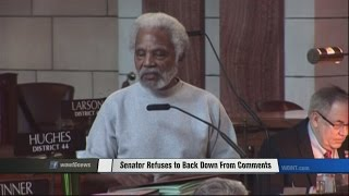Senator Refuses To Back Down From Comments