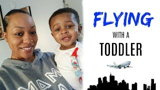 Tips for Flying with a toddler
