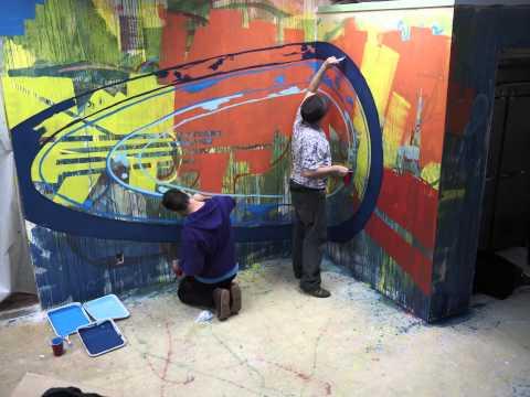 Shasta Mural Day 2 - timelapse #4