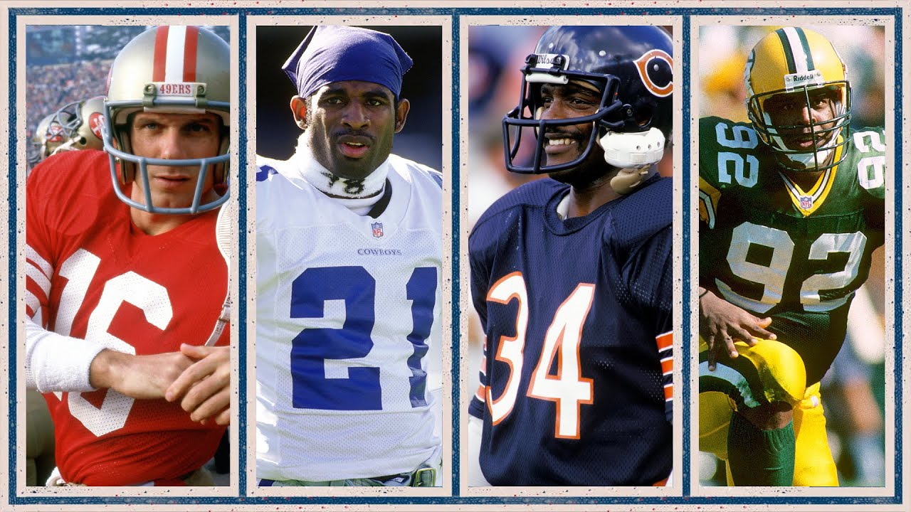 All-Time BEST NFL Players by Jersey Number (#1-99)