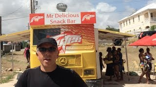 Mr.Delicious Food Truck / Snack Bar - Miami Beach Barbados with Frank Mazzuca | Family Style