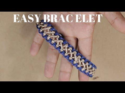 HOW TO MAKE THREAD BRACELET | MACRAME TUTORIAL | DIY BRACELET