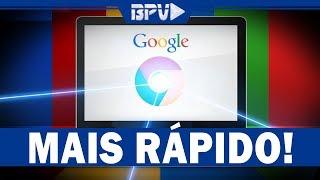 Como Aumentar a VELOCIDADE de Navegação da Internet - Google Chrome!
