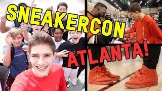 WE ALL WORE RED OCTOBERS... AT ATLANTA SNEAKERCON!!!