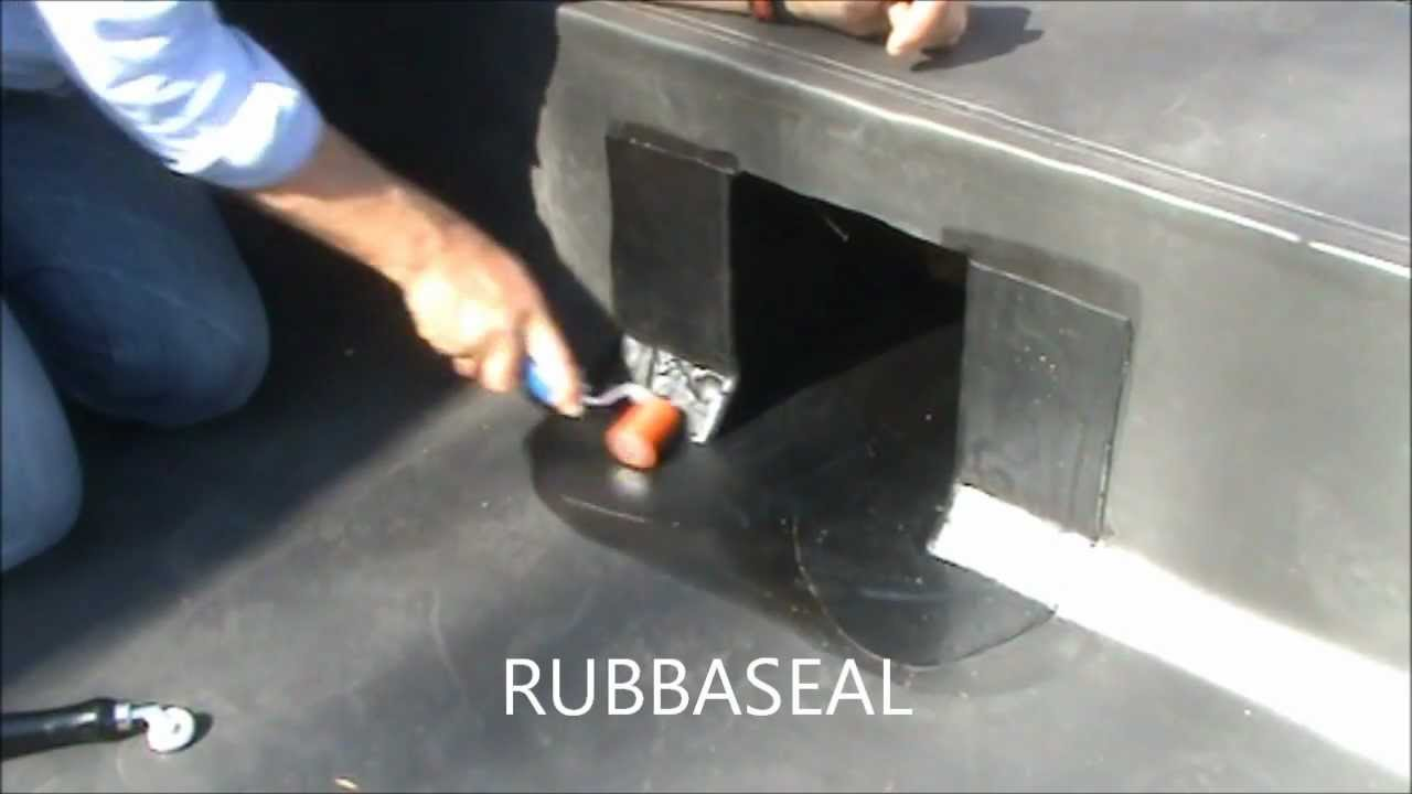 Thru Wall Outlet Rubbaseal Epdm Youtube