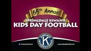 65th Annual Springdale Kiwanis Kids Day Football | 3rd & 4th | Blue vs. Gray