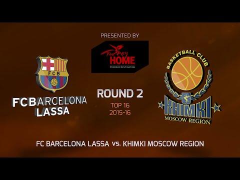 Highlights: FC Barcelona Lassa-Khimki Moscow region