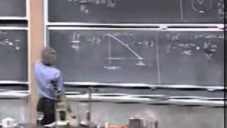Lec 33: Ideal-Gas Law   8.01 Classical Mechanics, Fall 1999 (Walter Lewin)