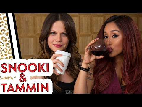 "Nicole ""Snooki"" & PLL Star Tammin Sursok: First Time Tag!"