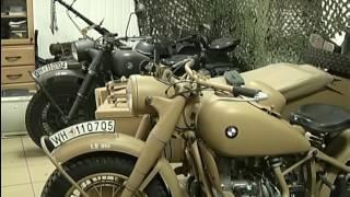 Красноярец реконструировал мотоцикл времён Второй мировой