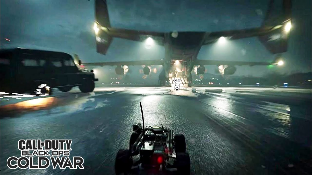 Epic Plane Chase with RC-XD Scene - Call of Duty Black OPS Cold War Campaign[RTX ON] - YouTube