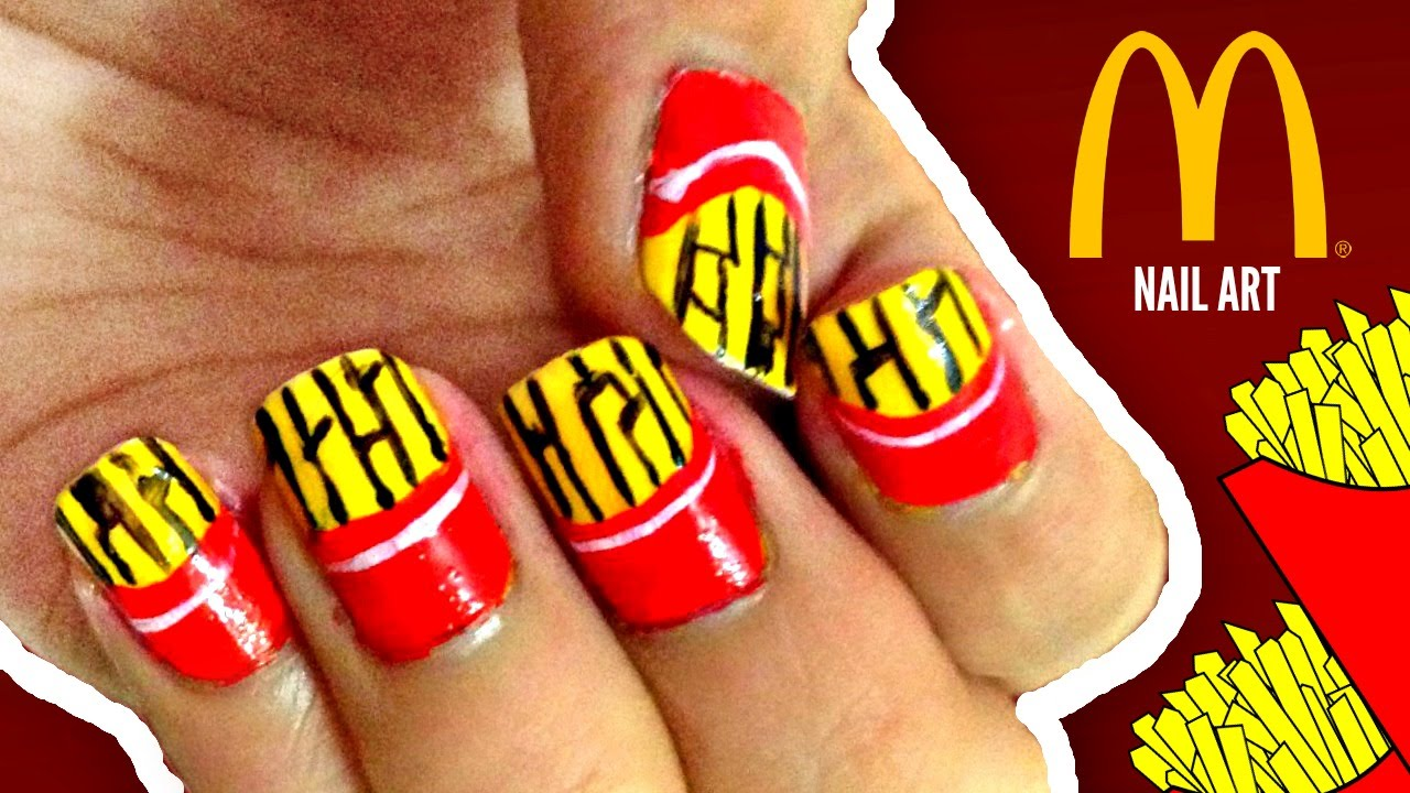 mcdonald's french fries nail