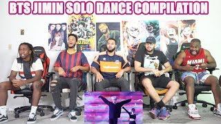 BTS Jimin solo dance compilation REACTION