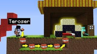 СЛОМАЛ КРОВАТЬ У ВРАГА ПОД НОСОМ, ОН ДАЖЕ НЕ ПОНЯЛ КАК ЭТО СЛУЧИЛОСЬ Minecraft Bed Wars