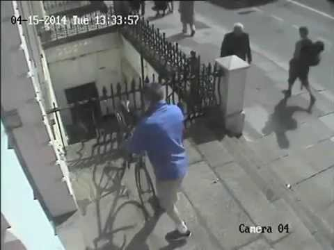 Bike theft Parnell Square East