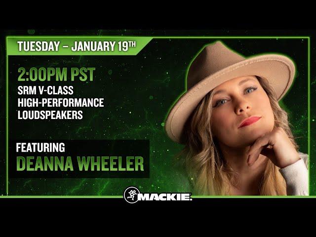 SRM V-Class High-Performance Loudspeakers – Product Spotlight – Featuring Deanna Wheeler