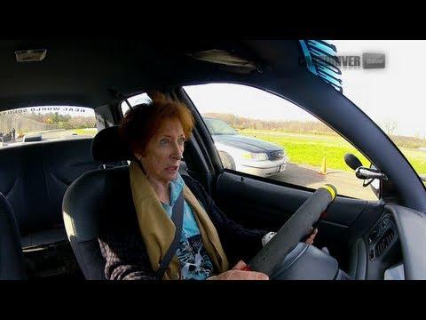 Old Lady Beats Dumb Driver - CAR and DRIVER