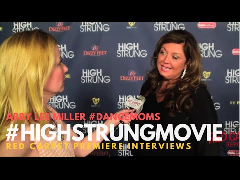 "Abby Lee Miller Interview #ALDC #DanceMoms at the Premiere for ""High Strung"" #‎HighStrungMovie"