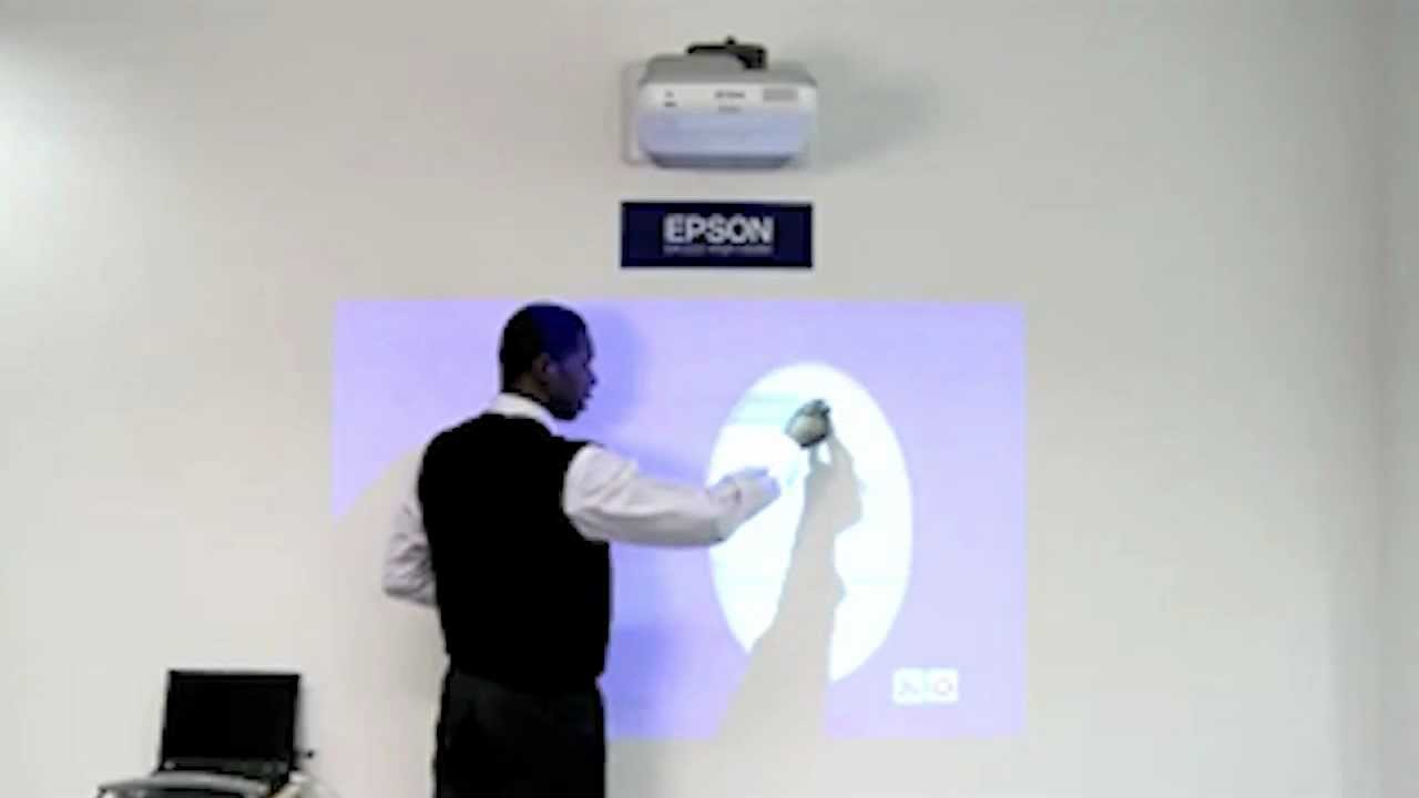 Epson Short Throw Projector Demo Youtube
