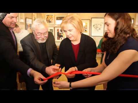 Татьяна и Екатерина Догилевы открыли художественные выставки на кинофестивале «Литература и кино»