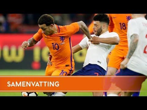 Samenvatting Nederland - Engeland (23/3/2018)