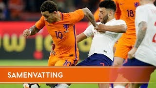 Highlights: Nederland - Engeland (23/3/2018)