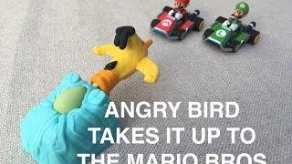 Angry Bird vs Mario & Luigi