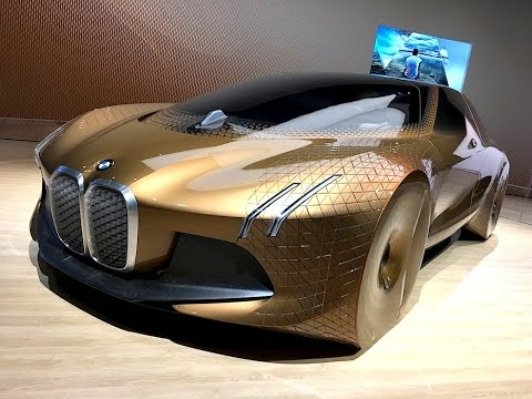 BMW VISION NEXT 100 Concept Car: A BMW for the year 2040? TECH REVIEW (1 of 4)