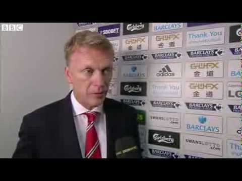 Swansea 1-4 Manchester United - David Moyes (17-08-13)