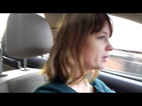 driving in Mercedes Benz 2011 in New York City - FEV42