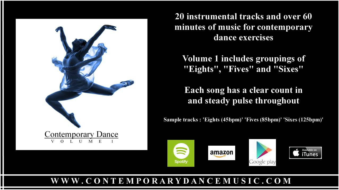 Music for Contemporary Dance - Volume 1