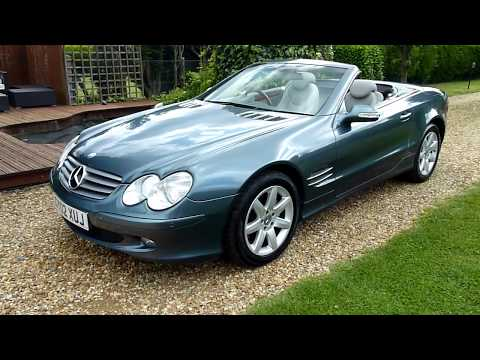Video Review of 2002 Mercedes SL500 Convertible For Sale SDSC Specialist Cars Cambridge UK