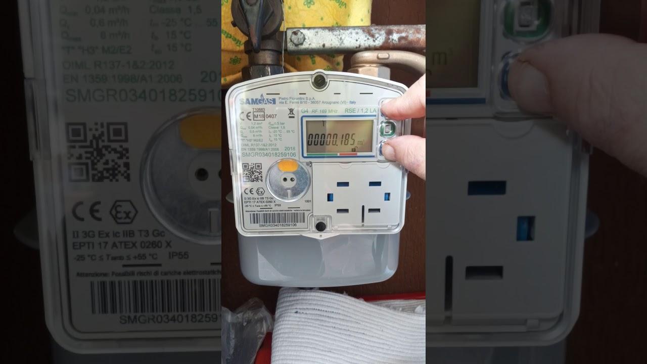 nuovo contatore digitale del gas come si leggono i