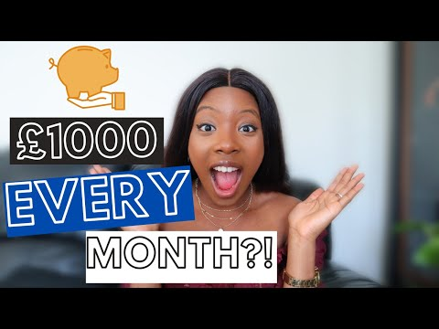 HOW I SAVE OVER £1000 EVERY MONTH ON A LOW INCOME: How To Save Money Fast UK