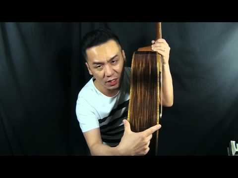 Mcpherson 4.5 Redwood/Indian Rosewood Guitar Review in Singapore