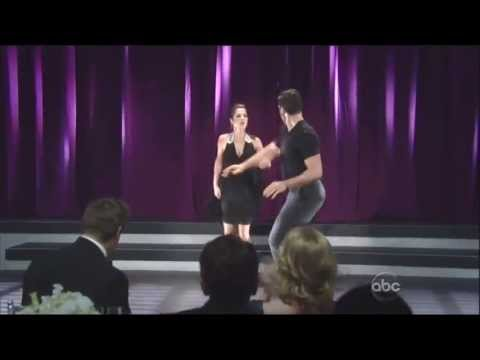 Maksim Chmerkovskiy & Kelly Monaco dancing on GH 4-5-13