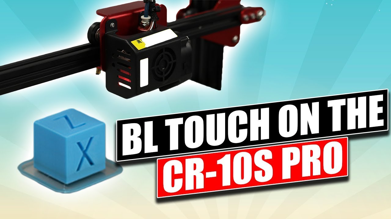 How to install a BLTouch v2 2 or older on a Creality CR-10s Pro