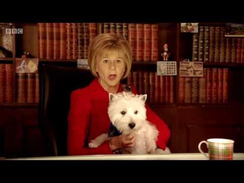 Nicola Sturgeon (Tracy Ullman) unveils her plan for Braveheart 2
