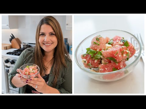 Ryan Seacrest - Sisanie Whips Up the Most Refreshing Watermelon Salad: Watch