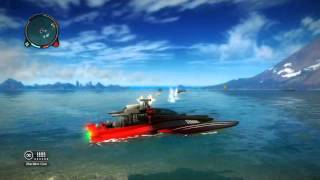 Sinking Boats in Just Cause 2