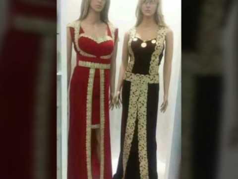 ba842386192e8 اروع فساتين الافراح التونسية - YouTube