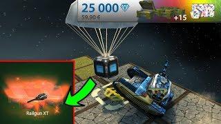 Tanki Online -  Cosmonautics Gold Boxes #26 + Meteorite goldboxes! ( Gold Rain)  танки Онлайн