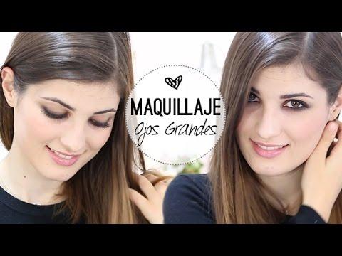 El mejor tutorial de maquillaje para las chicas con ojos grandes