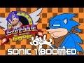 """COMO """"MELHORAR"""" UM CLÁSSICO EM SONIC 1 BOOMED   Sonic Fan Games #5"""