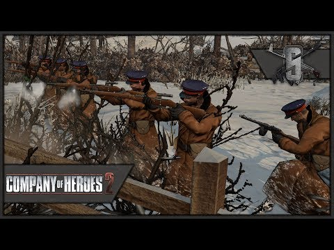 Elite NKVD Defends Moscow - Spearhead Realism Mod - Company of Heroes 2