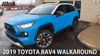 2019 *TWO TONE* Toyota RAV4 Trail Walkaround - Brampton ON - Attrell Toyota
